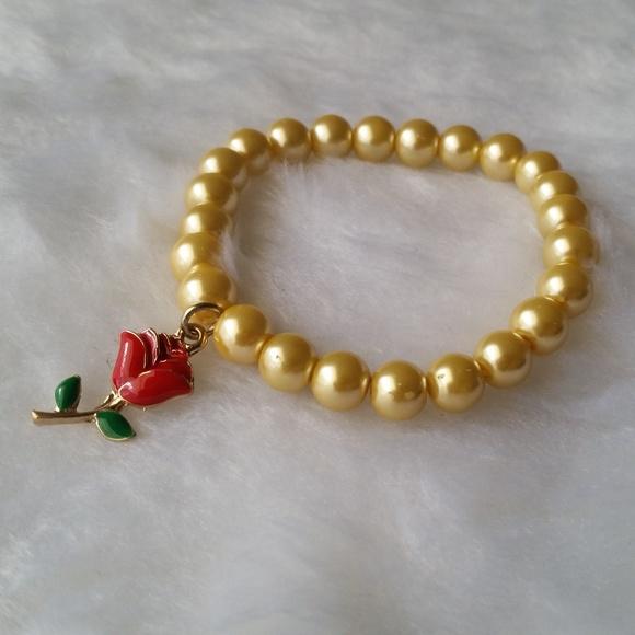e9cf83c5b Handmade Jewelry | Disney The Enchanted Rose Bracelet | Poshmark